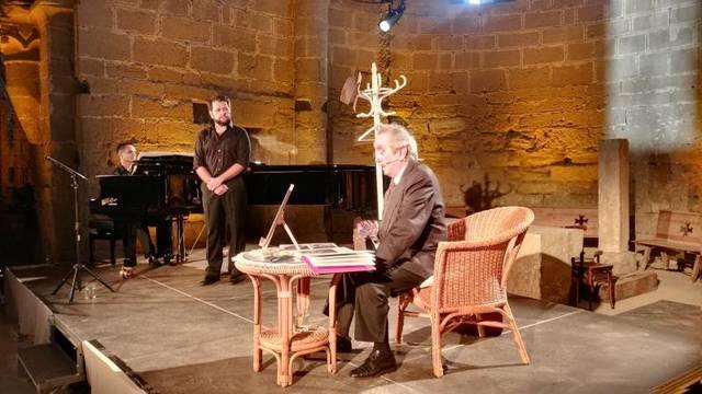 L'homenatge al tenor Emili Vendrell clausura el 7è Juliol de Música i Poesia