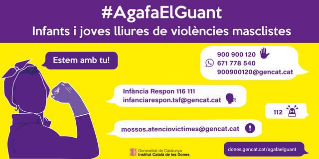 L'Institut Català de les Dones inicia una campanya de sensibilització a infants i joves per fer front a les violències masclistes en el marc de la crisi de la Covid19