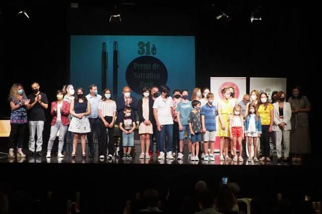Lliurament de guardons del 31è Premi de Narrativa Breu d'Artesa de Segre