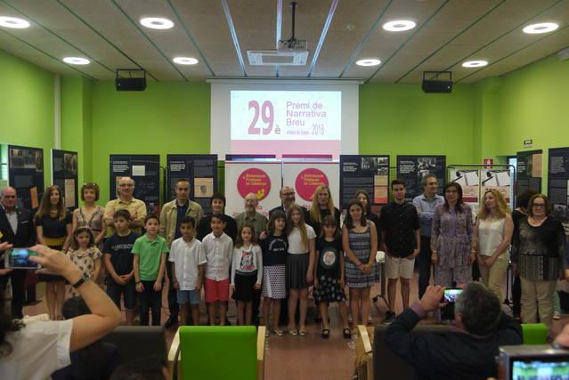 Lliurament de premis del 29è Premi de Narrativa Breu