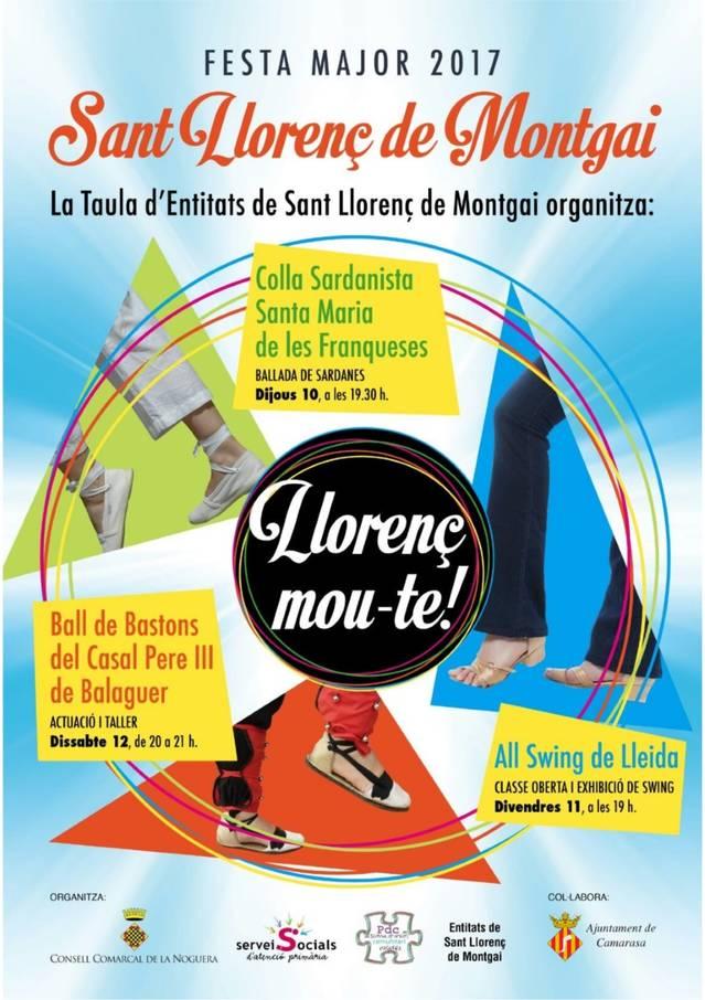 """""""Llorenç, mou-te"""" la nova iniciativa per promoure la participació a la Festa Major de Sant Llorenç"""