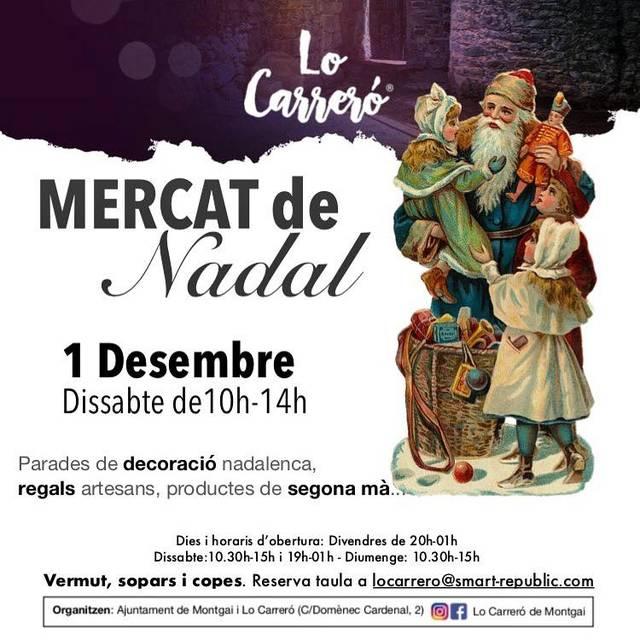 Lo Carreró de Montgai organitza un mercat de Nadal