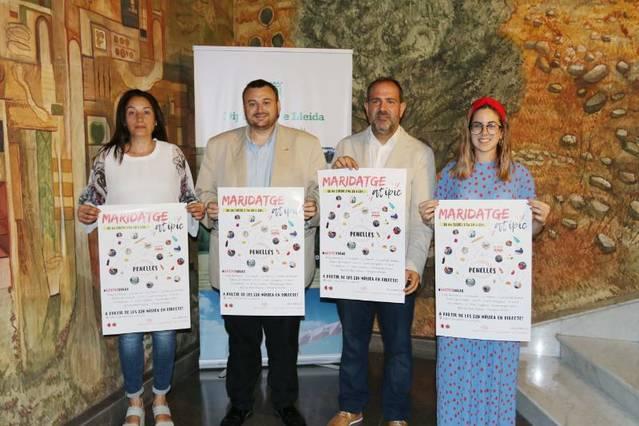 Maridatge Atípic dissabte vinent a Penelles amb el suport de la Diputació de Lleida