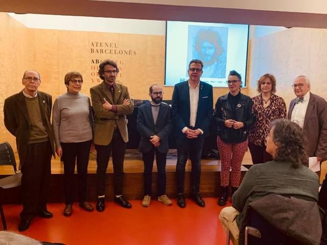 Menàrguens i la Diputació de Lleida obren a l'Ateneu Barcelonès 'l'Any Joan Barceló'
