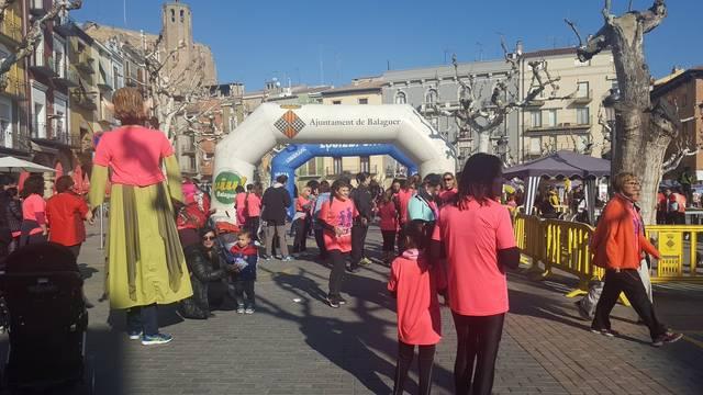 Més de 1.000 participants a la 6ª Cursa de la Dona