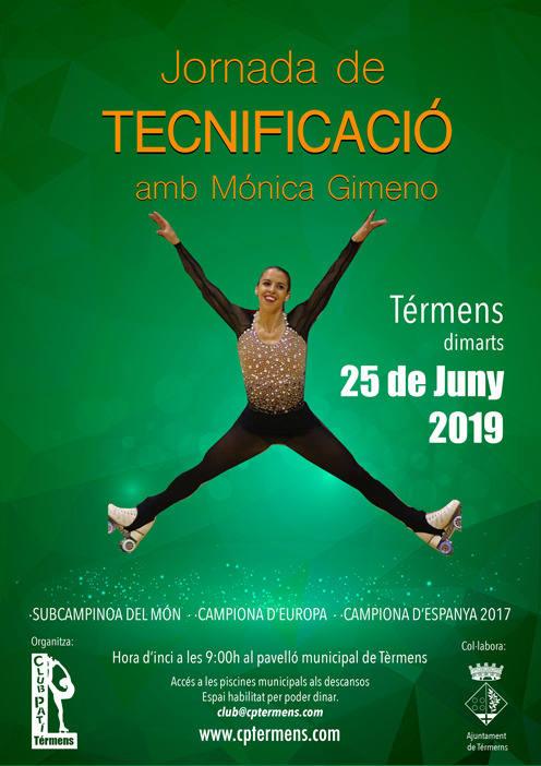 Mònica Gimeno realitzarà una jornada de tecnificació a Térmens