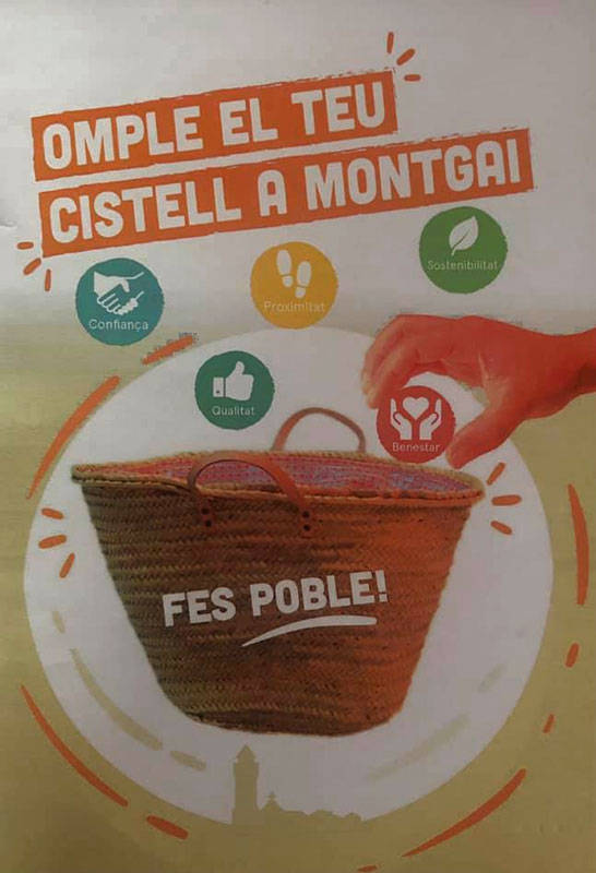 Montgai engega una campanya per conscienciar sobre el comerç de proximitat