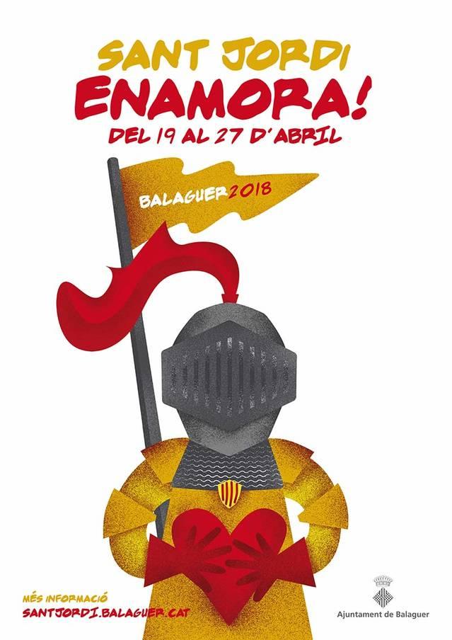 Nova edició de Sant Jordi Enamora Balaguer