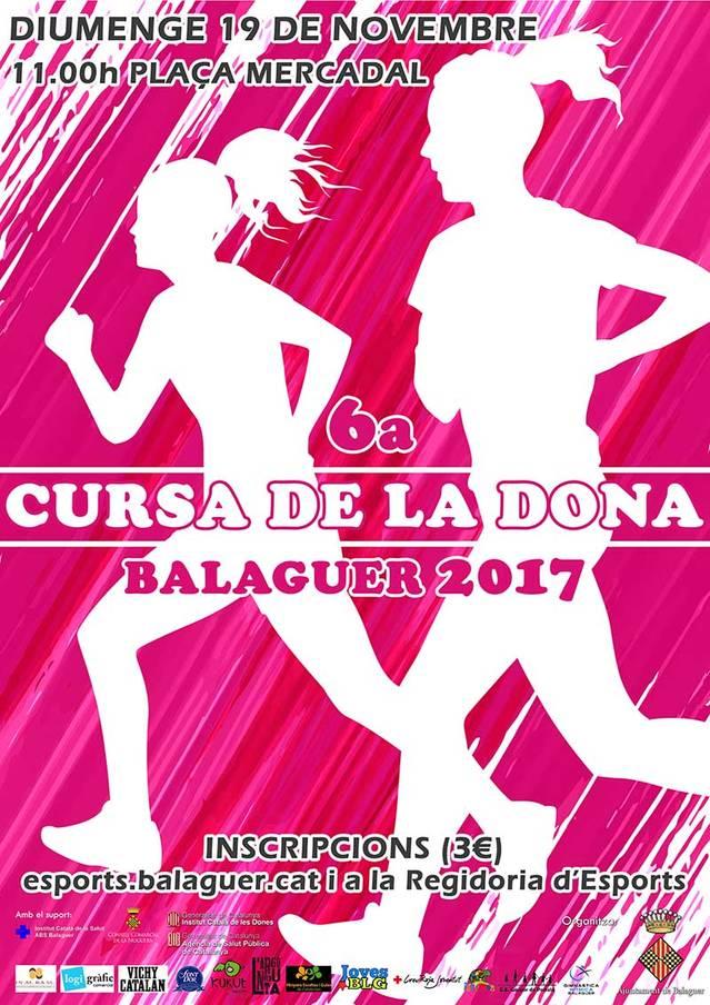 Obren les inscripcions de la Cursa de la Dona de Balaguer