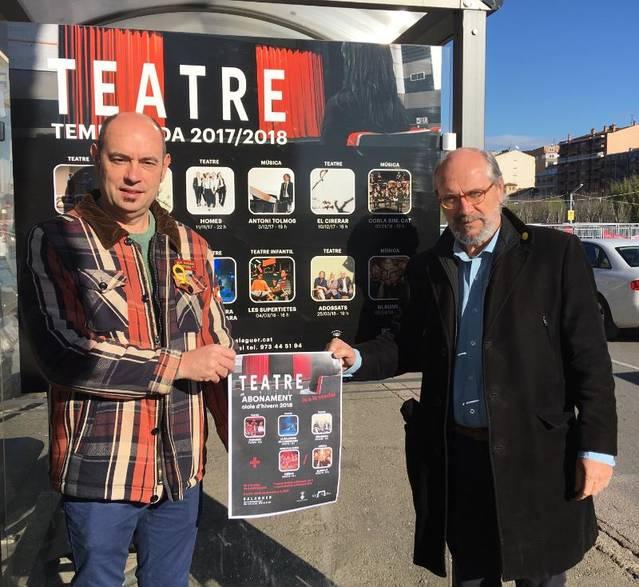 """""""Paradise"""", """"La calavera de Connemara"""" i """"Adossats"""" a l'abonament del Cicle d'hivern 2018 del Teatre de Balaguer"""