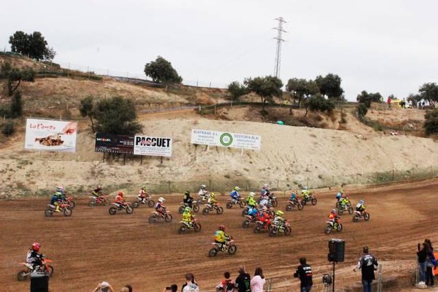 Penúltima prova del campionat de Catalunya de motocròs al circuit de Ponts
