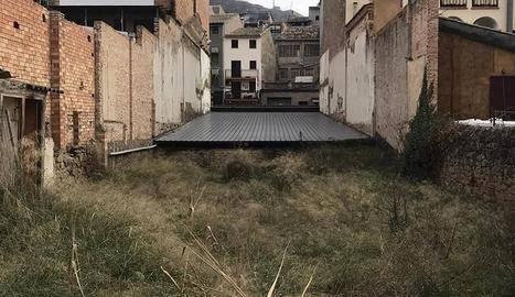 Ponts compra al bisbat d'Urgell el solar del Centre
