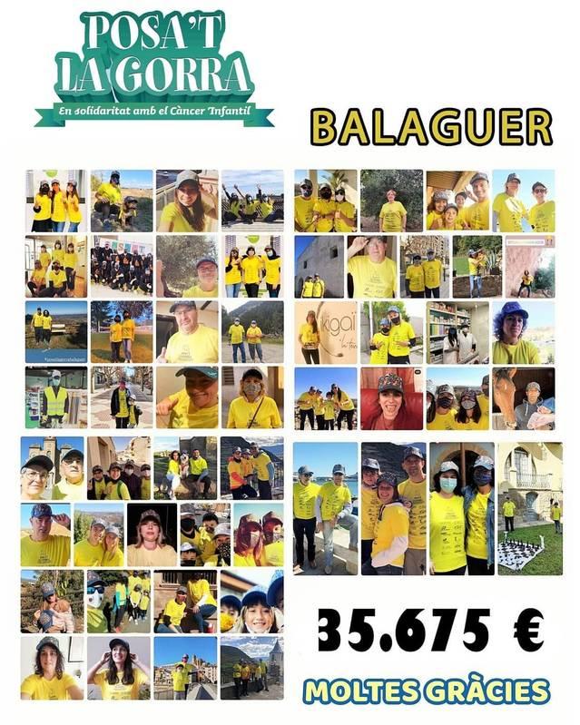Posa't la Gorra a Balaguer recapta 35.675 € en una edició marcada per la excepcionalitat