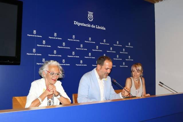 Presentació de la Fira de Comerç i Proximitat de Camarasa a la Diputació de Lleida