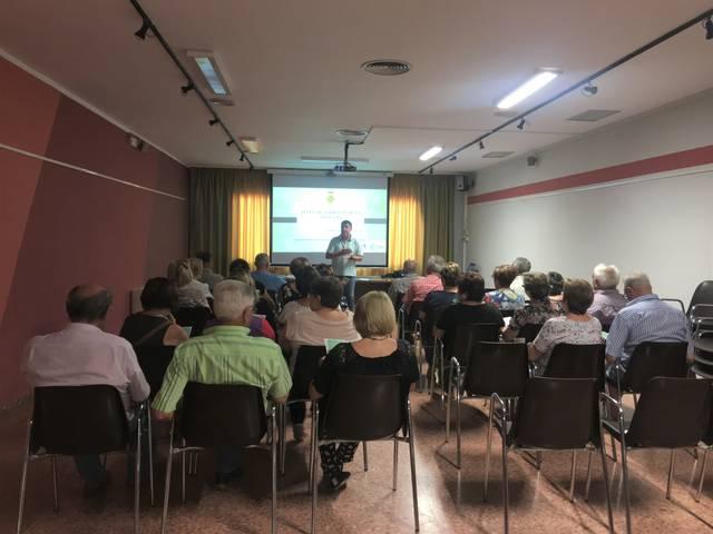 Presentació de les aules de formació de la Noguera a Vallfogona de Balaguer