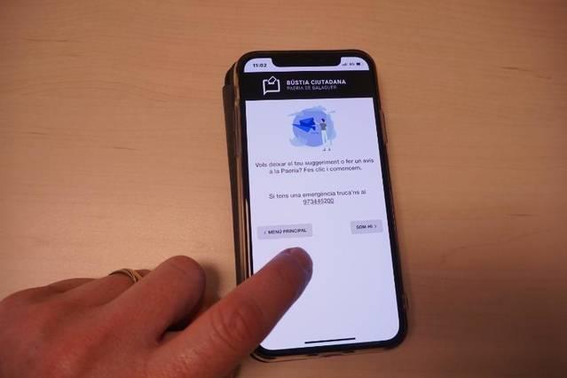 Presentació del mòdul d'Avisos i Suggeriments de l'aplicació per a mòbils de la Paeria de Balaguer