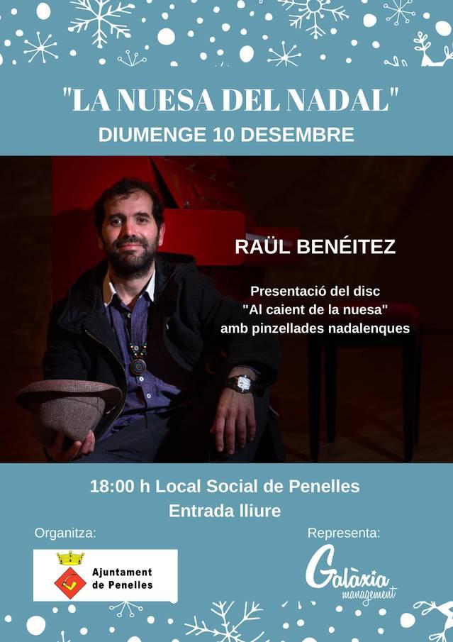 Raül Benéitez actuarà el proper diumenge a Penelles