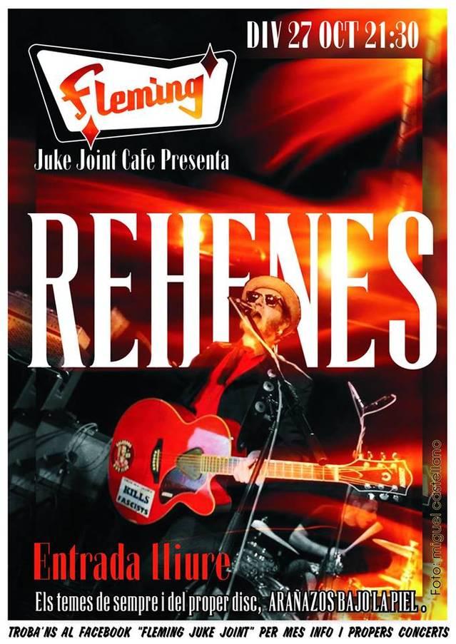 """Rehenes presenta """"Arañazos bajo la piel"""""""