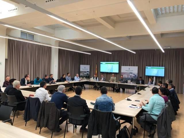 Reunió amb les operadores de Lleida per a la implantació de la fibra òptica