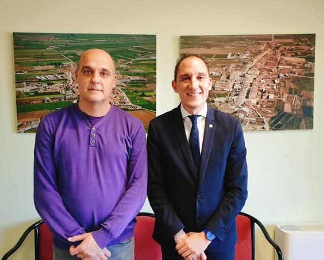 Reunions de treball del subdelegat del Govern amb l'alcaldessa d'Àger i l'alcalde de Vallfogona de Balaguer