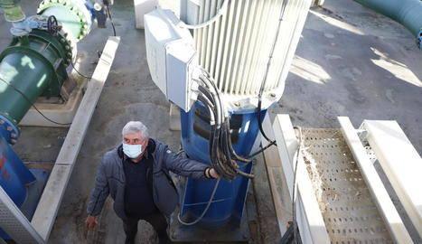 Roben 1.600 metres de cable de coure en una estació de bombatge de l'Algerri-Balaguer