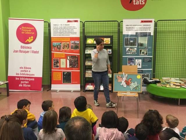 Setmana d'activitats a la biblioteca d'Artesa de Segre