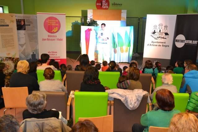 Setmana plena d'activitats infantils a la Biblioteca d'Artesa de Segre