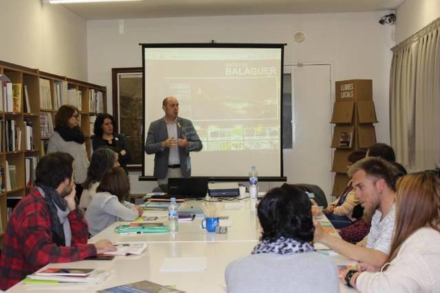 S'inicia el curs d'informadors turístics locals de Balaguer
