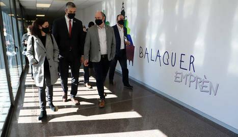 Solé avala el centre de suport empresarial de Balaguer