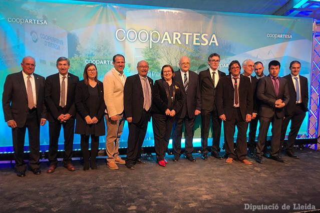 Sopar commemoratiu del 60è aniversari de la Cooperativa d'Artesa de Segre