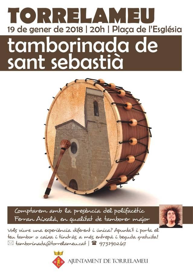 Tamborinada de Sant Sebastià a Torrelameu