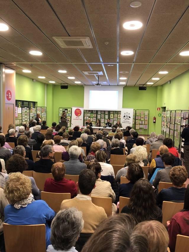 Taula rodona per commemorar el Dia Internacional de la Dona a la Biblioteca d'Artesa de Segre