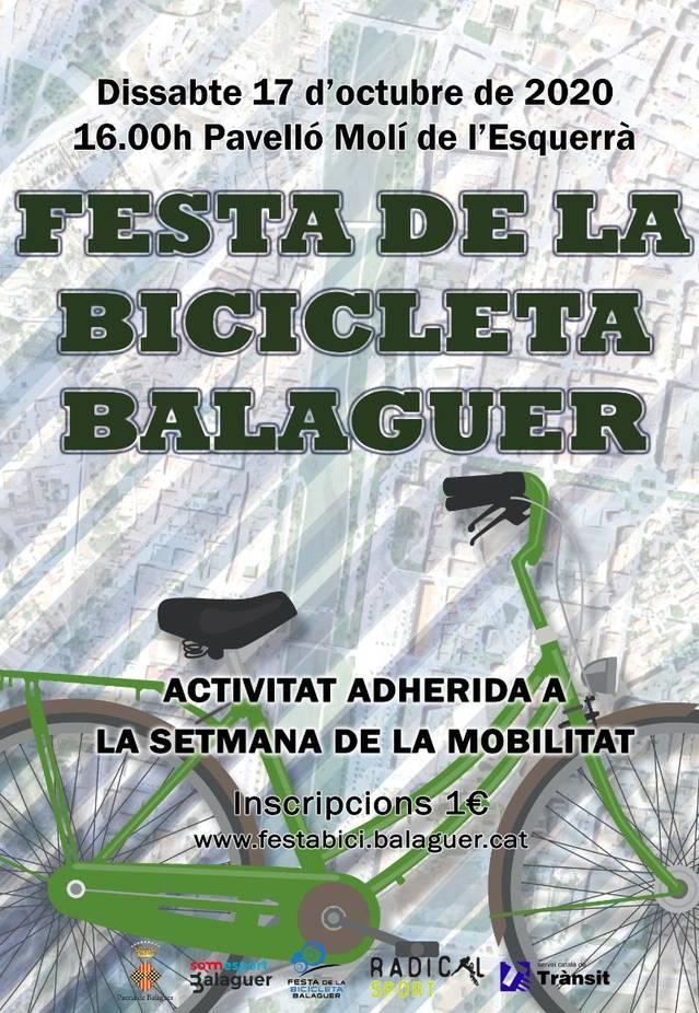 Torna la festa de la bicicleta a Balaguer