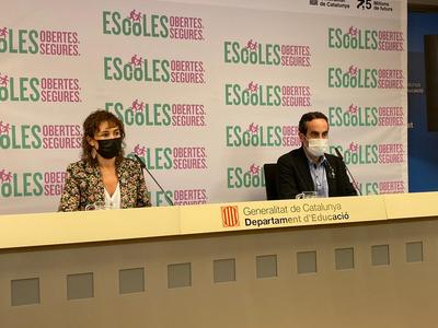 Un 98% dels grups estables dels centres educatius de Catalunya estan en funcionament