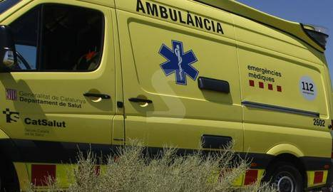 Un escalador ferit al caure a Vilanova de Meià
