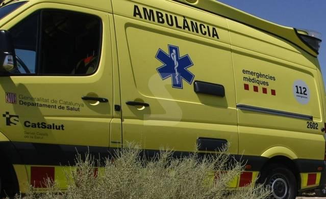 Un ferit en una col·lisió entre dos vehicles a les Avellanes i Santa Linya.