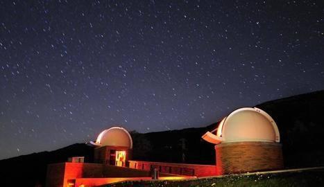 Un llamp danya un dels telescopis del COU