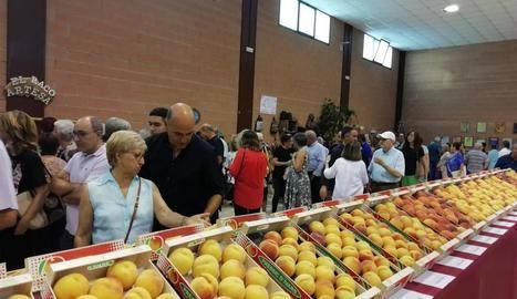 Una trentena d'expositors de 'prèssic' participen en la Fira d'Ivars de Noguera