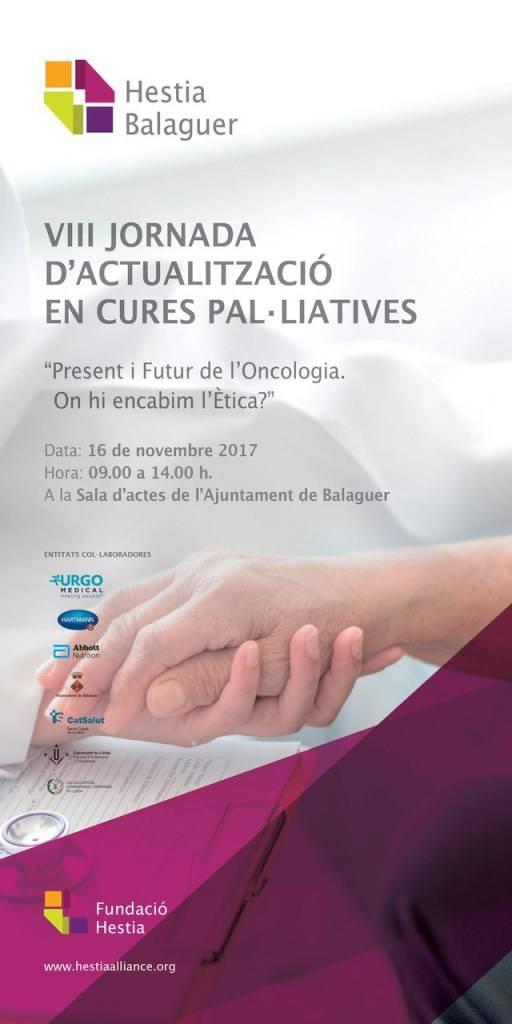 VIII Jornada d'Actualització en Cures Pal•liatives de Balaguer