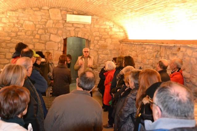 Visita al celler Arió de Boada en el marc de Biblioteques amb DO