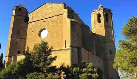 Visites guiades a santa Maria de Balaguer, que estrena punt d'informació i un espai Gaspar de Portolà