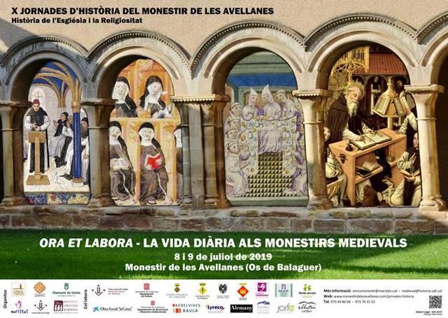 X Jornades d'Història del Monestir de les Avellanes