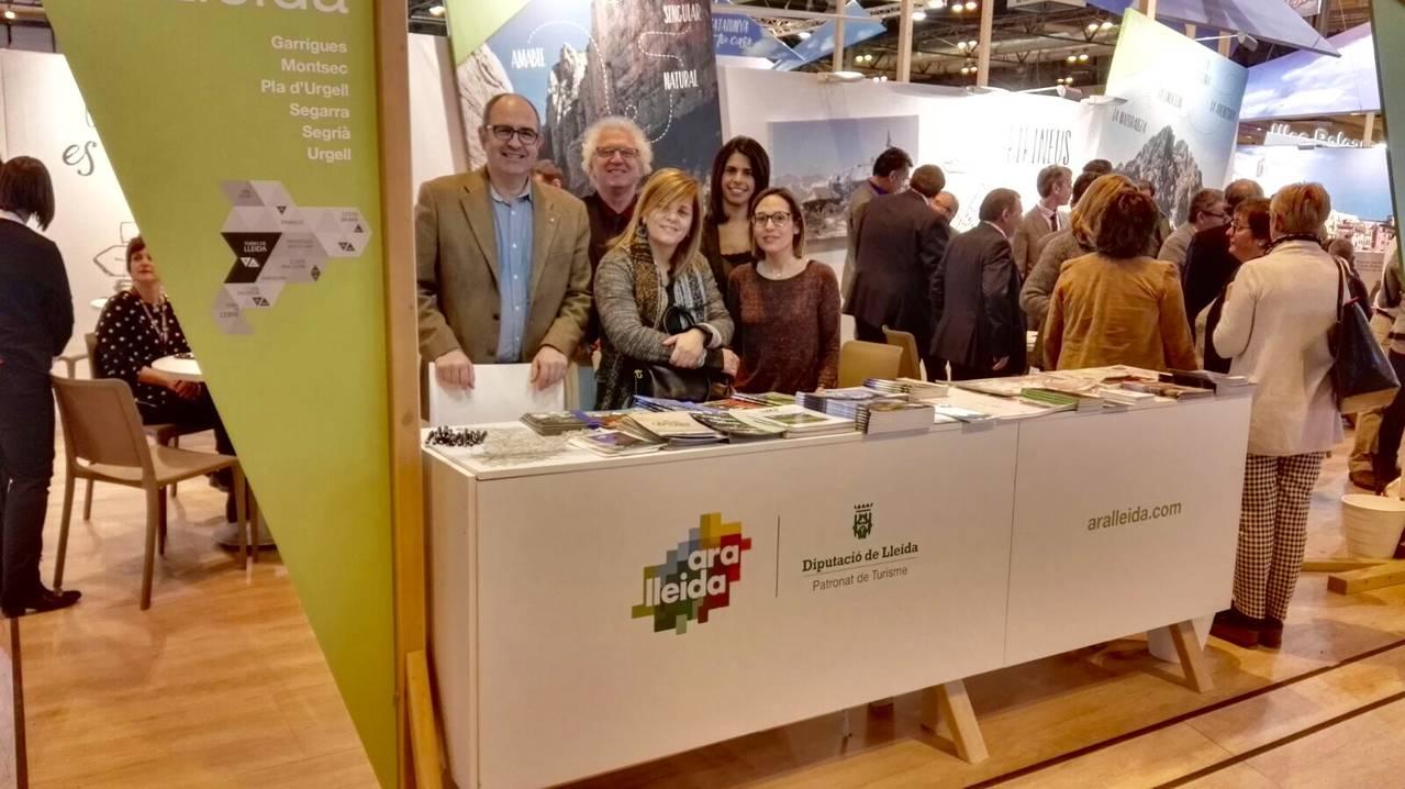 El Consell Comarcal de la Noguera promociona la comarca a la 37a fira de turisme FITUR