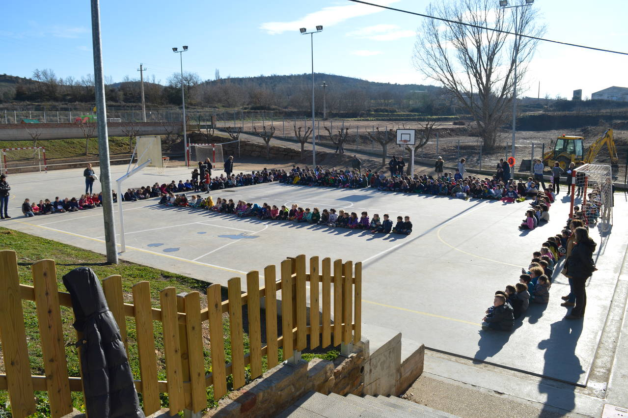 Les escoles de la Noguera celebren el Dia Escolar de la No violència i la Pau