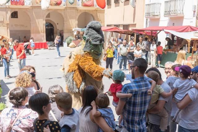 10.000 persones al 23è Mercat Medieval d'Almenar