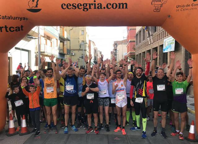 150 participants a la Cursa de la Truita d'Alfarràs