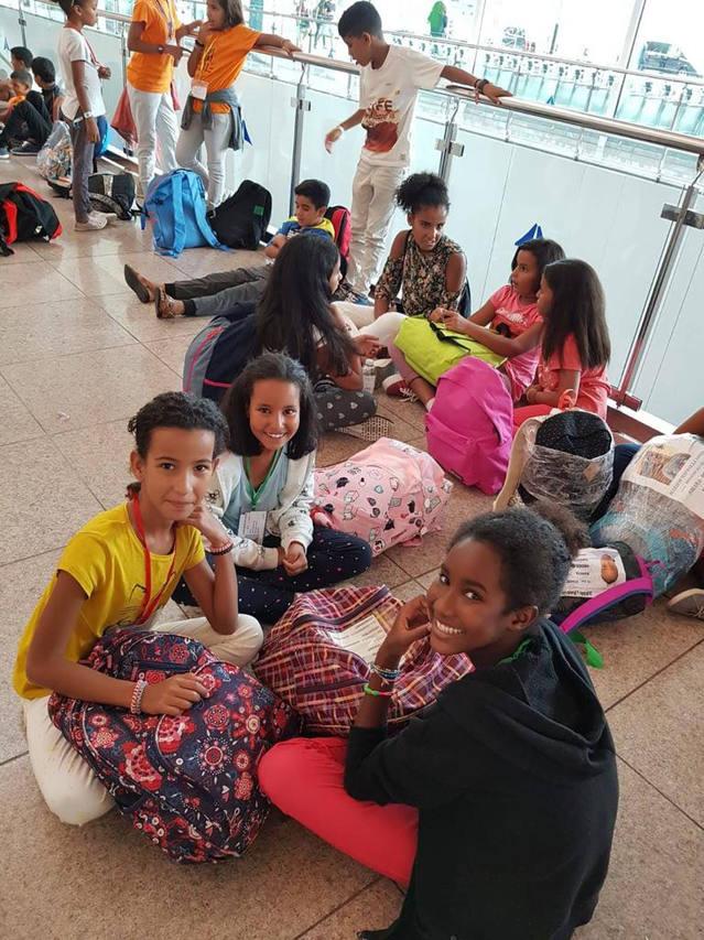 19 infants saharauis arriben al Segrià per gaudir d'unes 'Vacances en Pau'