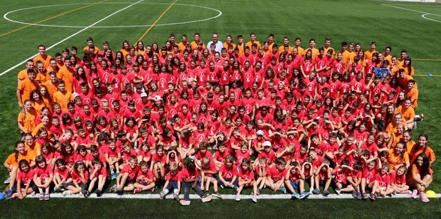 249 nens i nenes al 1r torn de les Estades d'Alpicat
