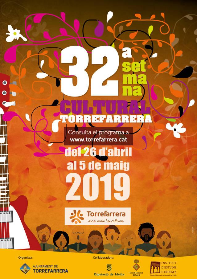 32a Setmana Cultural de Torrefarrera, del 26 d'abril al 5 de maig