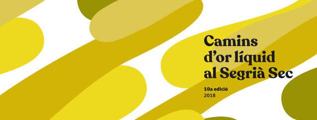 A punt la 10ª edició de Camins d'or líquid al Segrià Sec